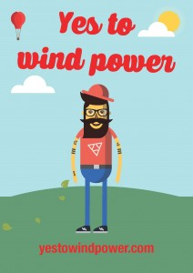 Say YES to wind power