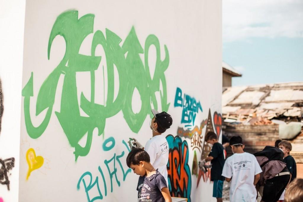 Realizare grafitti 1