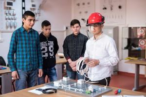 inaugurare laborator - Ucenic Electrician 3